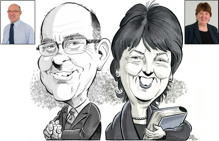 Caricatures for the boardroom